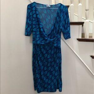 Pea and the Pod Maternity Wrap Dress